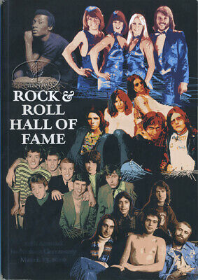 GENESIS ABBA 2010 Rock and Roll Hall of Fame Induction Program
