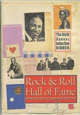 THE BYRDS IKE/TINA TURNER 1991 Rock and Roll Hall of Fame Induction Program