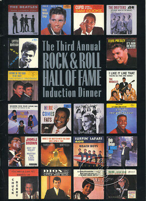 BEATLES/BOB DYLAN 1988 Rock and Roll Hall of Fame Induction Program