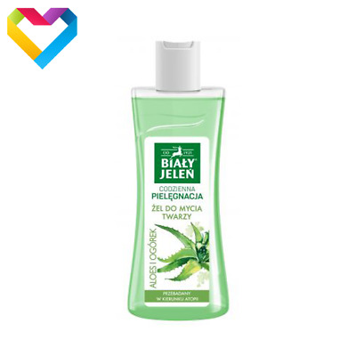 BIALY JELEN HYPOALLERGENIC FACE WASHING GEL ALOE AND CUCUMBER 175ml