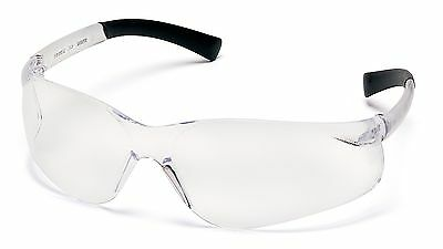 Pyramex Ztek Safety Glasses, Clear Lens and Frame, 12 Pack (S2510S)