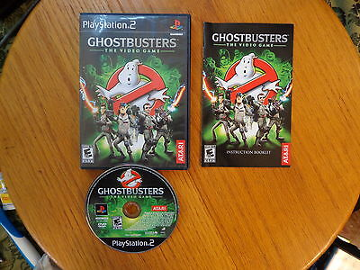 Ghostbusters Ghost Busters: The Video Game  (Sony PlayStation 2) Complete PS2