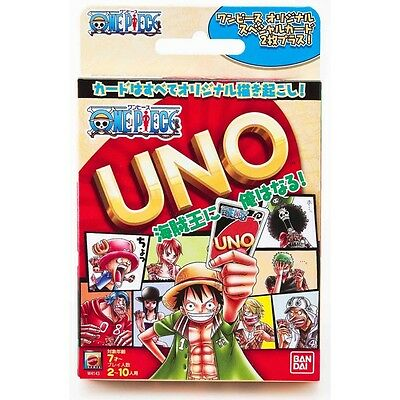 Free shipping One Piece Official UNO Card Game From Japan