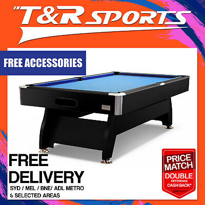 7Ft 1-Piece Slate Pool/snooker/billiard Table Full Accessories Pack Free Deliver