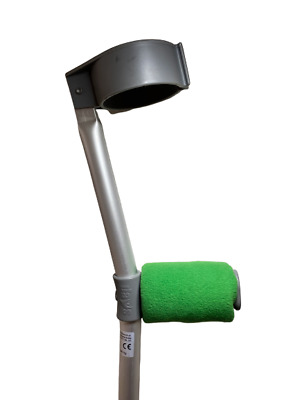 Padded Handle Comfy Crutch Covers/pads - Green
