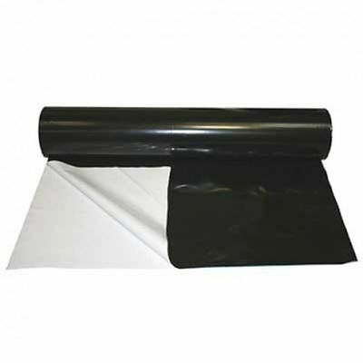 Black/White Reflective Grow Room Plastic Sheeting - 1 to 100m 2m Wide 125 Micron