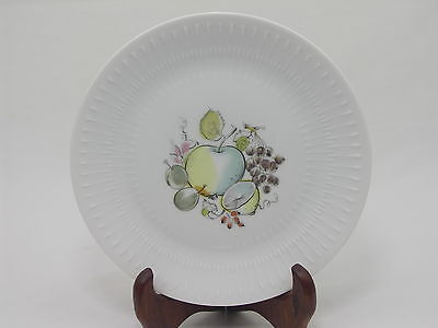 Bavaria Germany Hutschenreuther Selb Pasco Apart Lemon/Apple Design Plate 8""