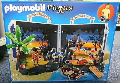 **NEU** PLAYMOBIL® 5347 Piratenschatzkoffer Piraten **OVP**