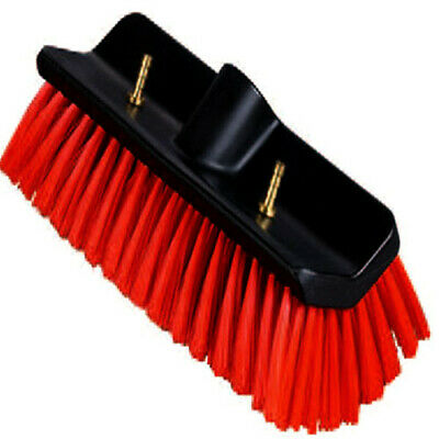 WINDOW CLEANING 10'' Sill / Hi-Lo BRUSH for WATER FED POLE with Pencil Jets