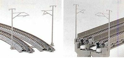 NEW KATO UNITRACK 23-059 SINGLE TRACK CATENARY POLES 16pcs