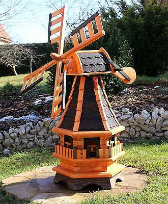 Windmill Windmills with solar lighting type 4 Selection of 4 Roof colours