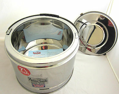 Stainless Steel Round Storage Hot/Cold Pot Food of Catering Restaurant/Home use