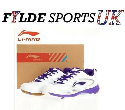 Li-Ning AYTG020 Womens Indoor Court Badminton Squash Shoe - CLEARANCE