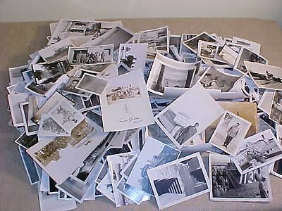 Original Wwii Us Photo Lot Of Approx 500