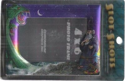 4 x 6 photo frame wizard and dragons slot shots chromium graphic inc new