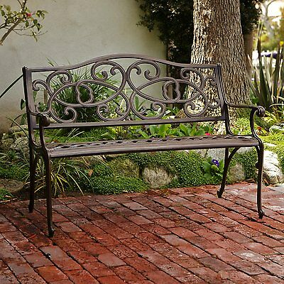 Best Selling Home Decor 234789 48.42-in L Aluminum Patio Bench