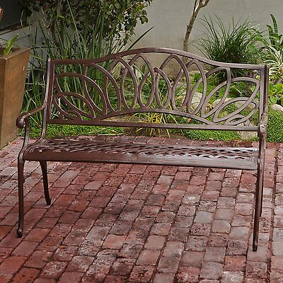 Best Selling Home Decor 234790 48.42-in L Aluminum Patio Bench