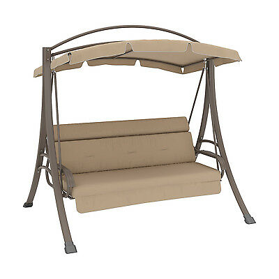 Sonax PNT-803-S CorLiving Nantucket Patio Swing with Arched Canopy