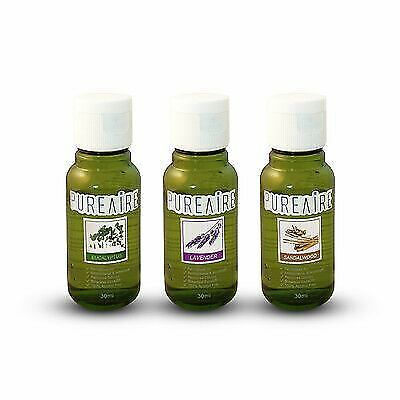 PureAire Eucalyptus Lavender Sandalwood 3x30ml Essence Autumn Pack Air Purifier