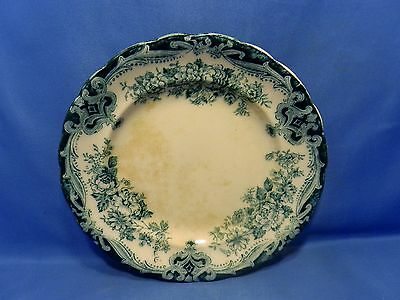 """Rare antique Bourne & Leigh  Albion Works 7 3/4"""" lunch plate Kew pattern, AS IS"""