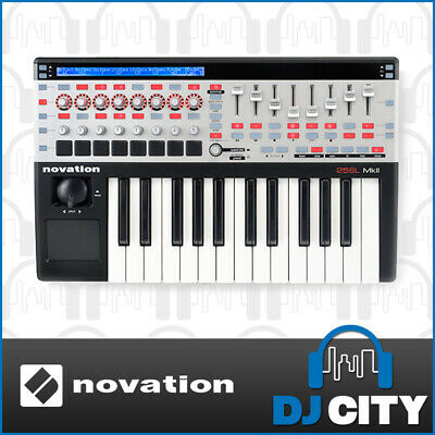 NOVATION SL MKII Remote 25 KEY PRODUCTION MIDI KEYBOARD WITH AUTOMAP SOFTWARE...