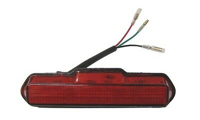 Complete Taillight LED Red LenBolt-on 150mm Long x 30mm Wide