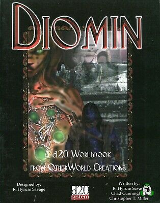 d20: Diomin: Worldbook (New)