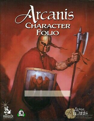 d20: Arcanis Character Folio (New)