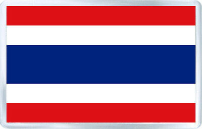 Thailand Flag Fridge Magnet Souvenir Iman Nevera