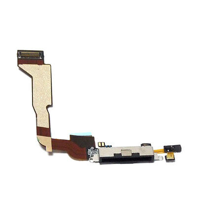 New Black Dock connector for iPhone 4 4g  CDMA  A1349 Charging Port Flex Cable