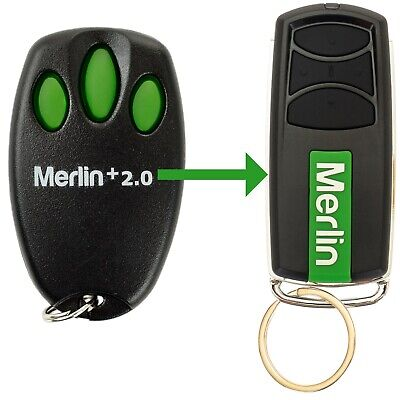 Chamberlain Merlin E945M Garage Door Remote Control Suits MT100EVO Security +2.0