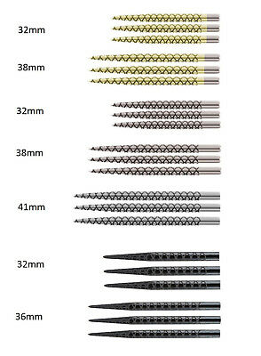Target Diamond Cut Replacement Dart Points in Gold / Golden or Silver