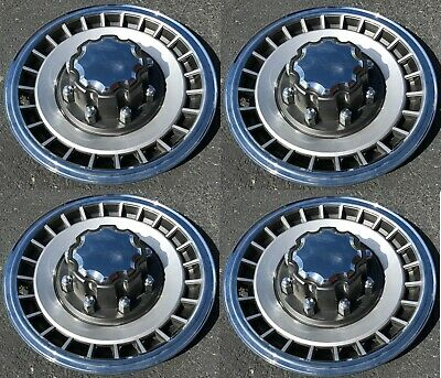 1984-1997 FORD TRUCK F250 F350 Van E250 E350 Wheelcover Hubcap Set NEW