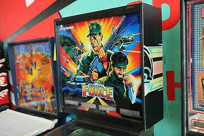 Special Force Pinball Machine - Bally Vintage Solid State Multiball! BOMBS AWAY!
