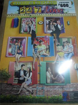 24/7 In Love Kathyrn Bernardo Daniel Padilla tagalog Filipino dvd Philippines