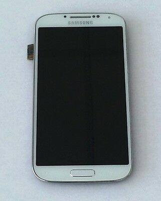 LCD TOUCH SCREEN - VETRO - BIANCO FRAME  SAMSUNG GALAXY GT-I9505 s4