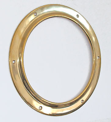"Canal boat 11"" brass porthole   CP014"
