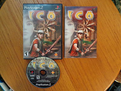 ICO  (Sony PlayStation 2, 2001) Complete PS2 Game!