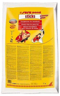 sera pond sticks energy plus 40l 5 kg
