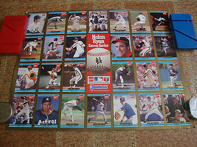Coca-Cola---Nolan Ryan---Poster---Career Series---Donruss---Rolled---14x18--1992
