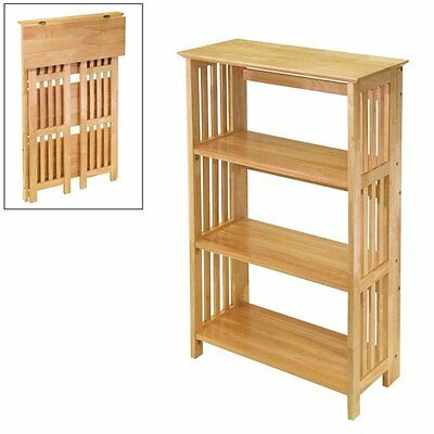 Winsome Wood 82427 Tier Mission Bathroom Shelf