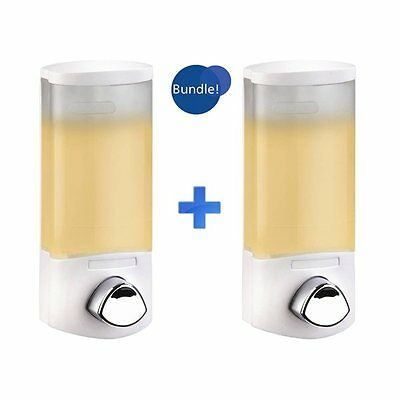 Better Living Products BU93107 Euro Uno Soap Dispenser 2-Pack