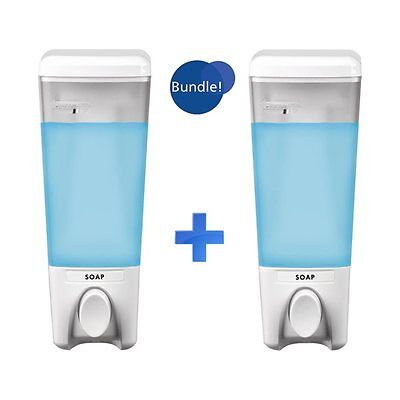 Better Living Products BU93119 Clear Choice Soap Dispenser 2-Pack