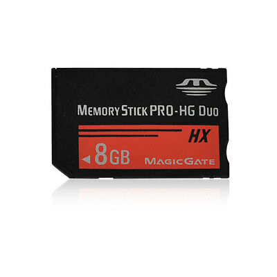 8GB MS Memory Stick PRO-HG Duo HX Card For Sony PSP 1000/2000/3000 Game Camera