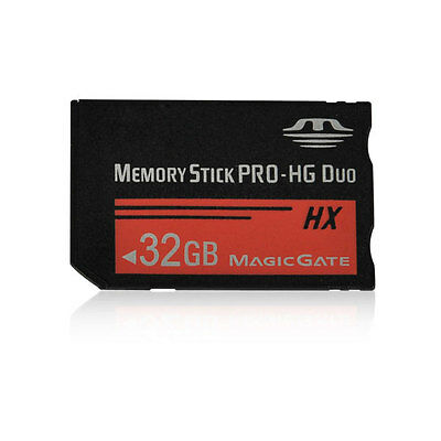 32G 32GB Memory Stick Flash PRO-HG Duo MagicGate Card For Sony PSP Camera