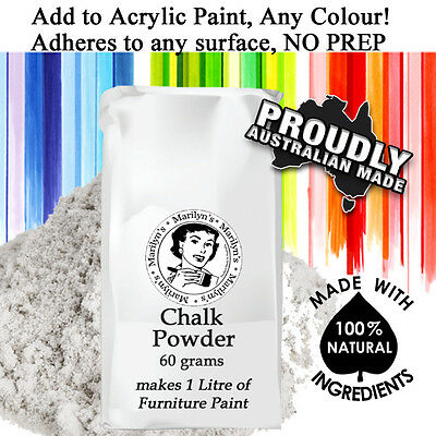 Makes 1 Litre of Chalk Based Paint for Furniture Upcycling