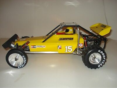Kyosho Scorpion Body And Wing Vintage Tbg