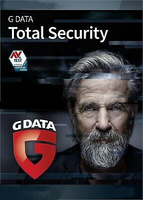 G DATA Total Protection 1 PC 2019 VOLLVERSION / Upgrade GDATA Total Security NEU