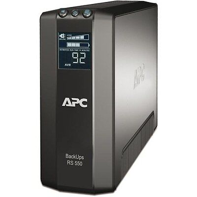 APC Back-UPS RS Uninterruptible Power Supply 550VA 330W 230V LCD 550 Master