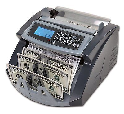 Cassida Currency Counter with Counterfeit Bill Detection CASSIDA-5520-UV/MG New